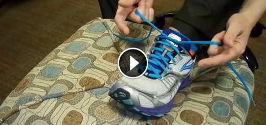 shoelaces tie