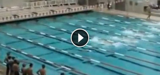 swimmers unique tactic