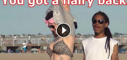 hairy back prank