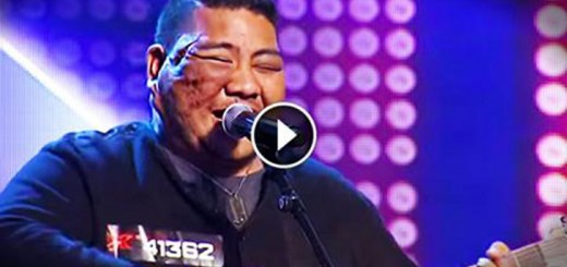 when he sings