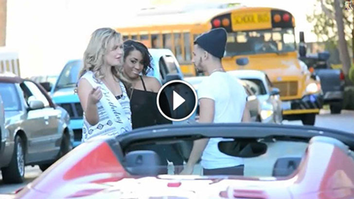 Not all girls are gold digger prank celebrity