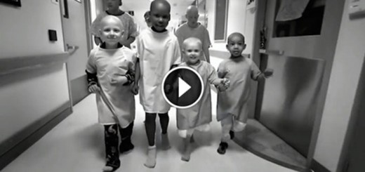 Kids Sneak Out Of Hospital Beds To Show Their True Colors.