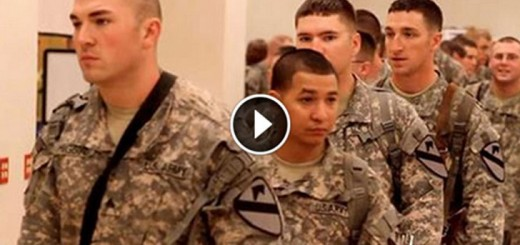 Soldiers Wait In Line For Hours To See Her!