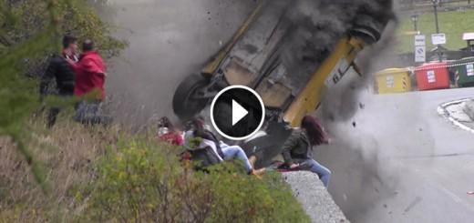rally big crash