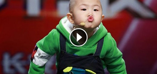 3-Year Old Boy Walked Out On Stage And Shocked Everyone