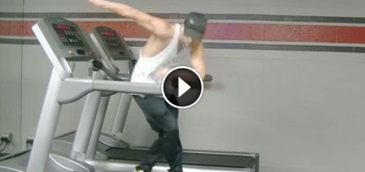 """""""Uptown Funk"""" Treadmill Dance Is Too Cool To Be True"""