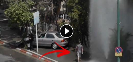 magical car accident