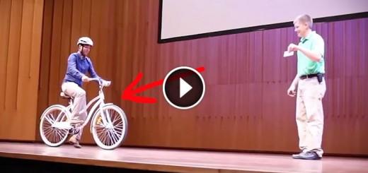 bike on stage