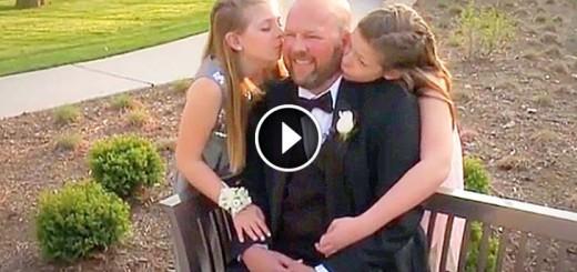 daddy wedding girls