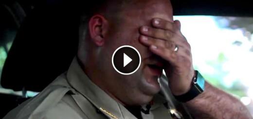 cop proves hot car