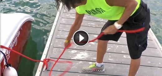 dock line handler