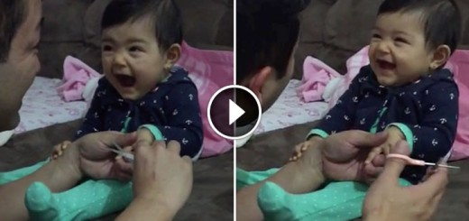 baby daddy cut nails
