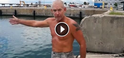marine trick drowning