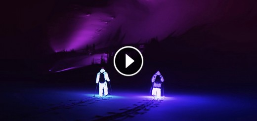 skiing led suits