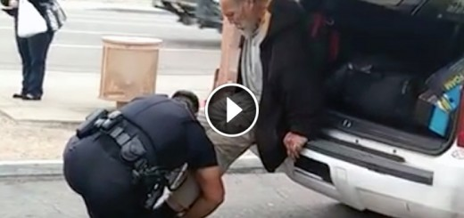 cop shoes homeless