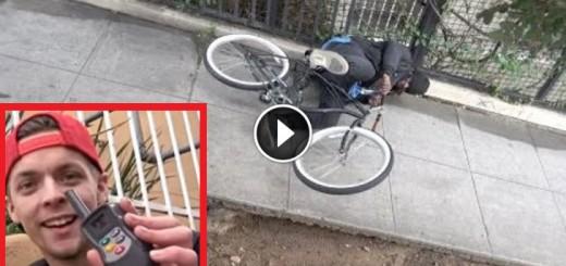 bike prank