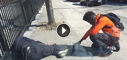 teen pray homeless