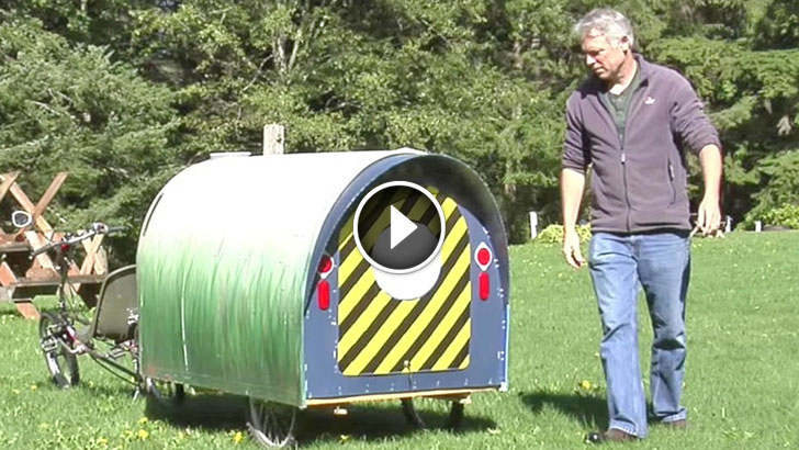 Diy micro mobile home video - The mobile little house the shortest way to freedom ...