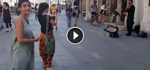 girl street ballet