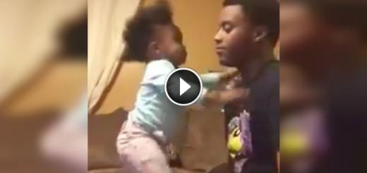 Toddler-Kisses