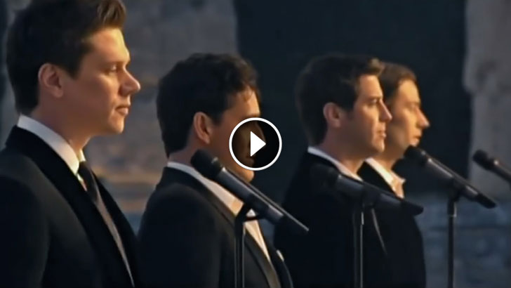 It s the most popular song of all time but you 39 ve never - Il divo amazing grace video ...